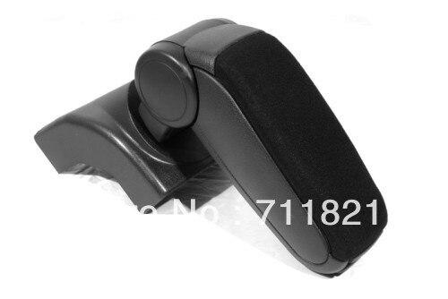 Center Console Armrest Cloth Black For Volkswagen Jetta Golf MK5