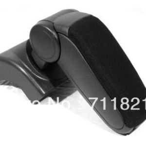 Center Console Armrest Cloth Black For Volkswagen Jetta Golf MK5