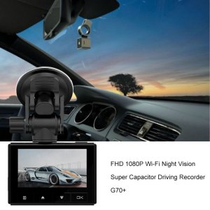 FHD Full HD 1080P good night vision competitive super capacitor dash cam G70
