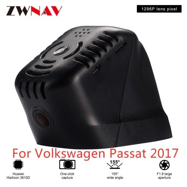 Hidden Type HD Driving recorder dedicated For Volkswagen Passat 2017 DVR Dash cam Car front camera WIfi