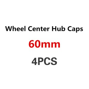 4PCS 60mm Car Wheel Center Cover Wheel Hub Cap For AUDI A4 B6 B8 B7 B5 A6 C5 C6 C7 A5 80 8V V8 Q7 Q5 Q3 A1 A8 A7 8P 8L 80 90 100
