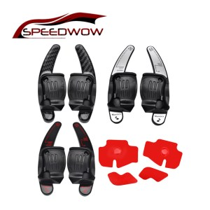 SPEEDWOW Car Steering Wheel Shift Paddle Extension Auto DSG Direct Shift Gear For VW Golf Jetta GTI MK6 R20 CC R36 Car Parts