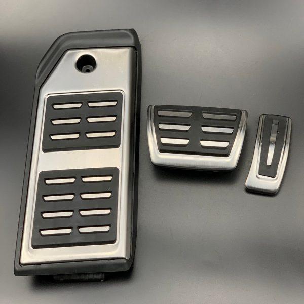 Car Brake Accelerator Footrest Pedal for Audi A1 A3 A4 B8 B9 A5 A6 A7 Q3 Q7 For Touareg/Porsche Cayenne Macan/Skoda Seat (LHD)