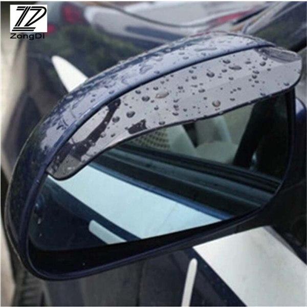 2pcs Car Styling Rain Brow For Citroen C4 C5 Ford kuga Audi A4 B6 B7 B8 A3 A6 C6 Q5 Peugeot 301 207 307 206 308 407 3008 lada