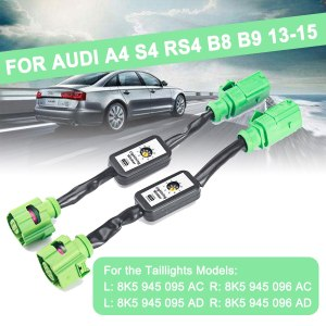 For Audi A3 8V,A4 S4 RS4 B8 B9,A5 S5 RS5,A6 S6 RS6 4G C7 Sedan,A8 Dynamic Turn Signal Indicator LED Taillight Add-on Module Wire