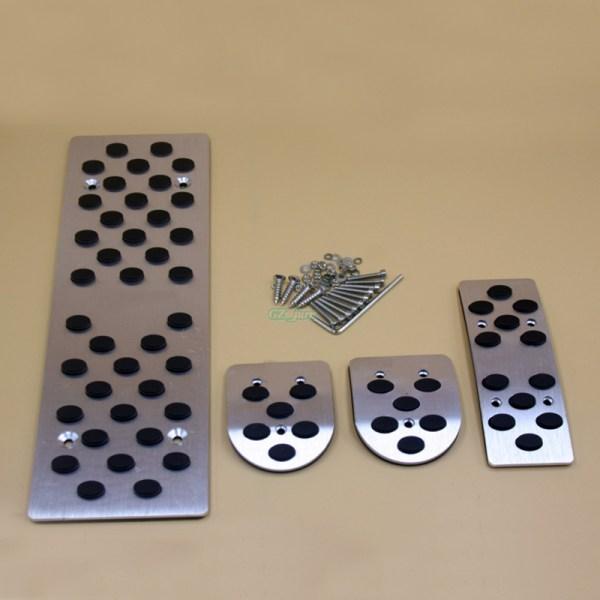Auto gas accelerator pedal For Audi A4 B6/B7/B8 A6 C5/C6 A7 Q5 Manual Aluminum Rest Brake Gas Clutch Pad Accelerator Cover