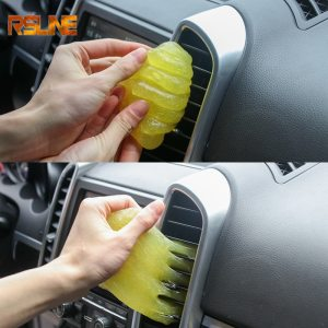 Car Cleaning Sponge Products Auto Universal Cyber Super Clean Glue Microfiber Dust Tools Mud Gel Products For Audi A4 B5 B6 B8