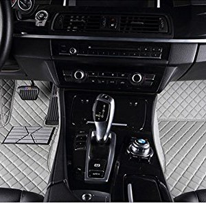 Dedicated Full Surrounded by Car Mats for Nissan Kai Chen D50 R50 T70 Sunshine Qi Jun Waterproof No Odor Carpets Non Slip,Gray