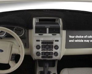 Covercraft DashMat 1541-00-25 Original Dashboard Cover Dodge Ram (Premium Carpet, Black)