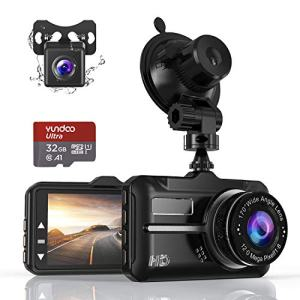 Dash Cam ZIAMRE Dashboard Camera with FHD 1080P 3 Inch LCD Screen, Car Driving Recorder Equipped with 170°Wide Angle, Night Vision Function, G-Sensor, Loop Recording, Parking Monitor, 32G SD Card