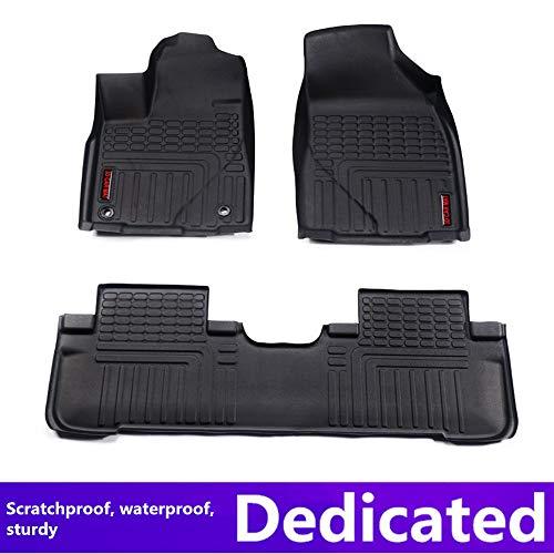 Car Floor mats for Toyota Prado 2010-2015(Seven Seats) Car Accessories car Styling Custom Floor mats TOP Material