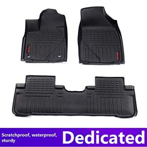 Car Floor mats for Toyota Prado 2010-2015(Seven Seats) Car Accessories car Styling Custom Floor mats TOP Material