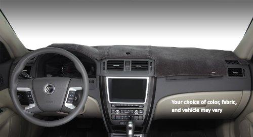 Covercraft DashMat VelourMat Dashboard Cover for Chevrolet Equinox - (Plush Velour, Black)