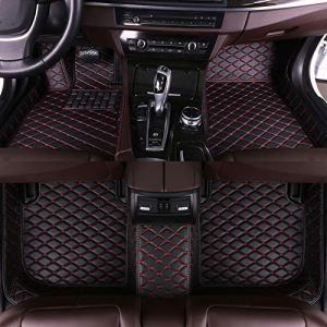 Muchkey car Floor Mats fit for Dedicated Custom Style Luxury Leather All Weather Protection Floor Liners Full car Floor Mats,Please Contact Customer Service