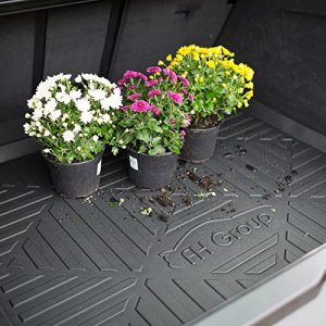 "FH Group F16407-32 Black 32"" x 24"" Premium Multi-Use Car SUV and Garage Trunk Mat Cargo Tray Liner"