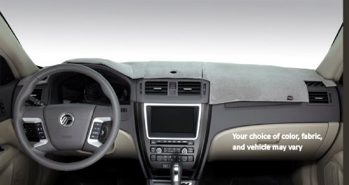Dashmat 71840-00-47 VelourMat Dashboard Cover for Dodge RAM (Grey)