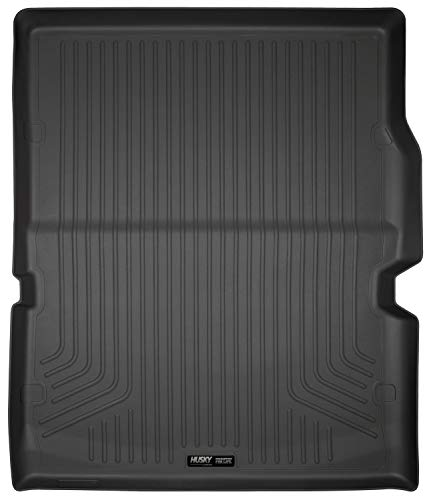 Husky Liners 20421 Black Weatherbeater Cargo Liner Fits 2011-19 Dodge Durango with 3rd row seat