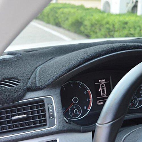 AutofitPro Custom Fit Dashboard Black Center Console Cover Dash Mat Protector Sunshield Cover for 2018 2019 2020 Chevrolet Equinox SUV