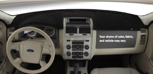 Wolf DashMat Original Dashboard Cover Chevrolet and GMC (Premium Carpet, Black) (1424-00-25)