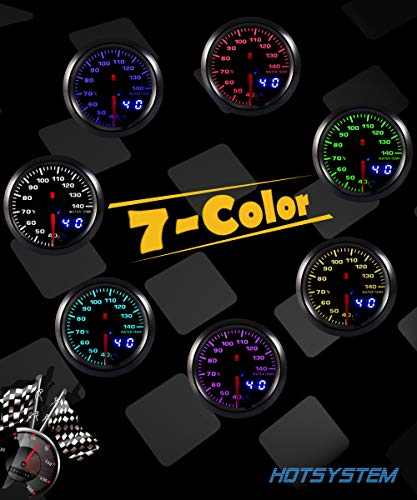 Color Water Coolant Temperature Gauge Kit 40-140 Celsius Pointer HOTSYSTEM is knowledgeable vendor for offering artistic design and competitively priced automotive gauges with an in depth number of types and choices,reminiscent of Air/Gas ratio,Exhaust Gasoline,RPM,Turbo Increase, Oil temperature,Oil strain,Vacuum,Voltage and Water temperature and so forth.