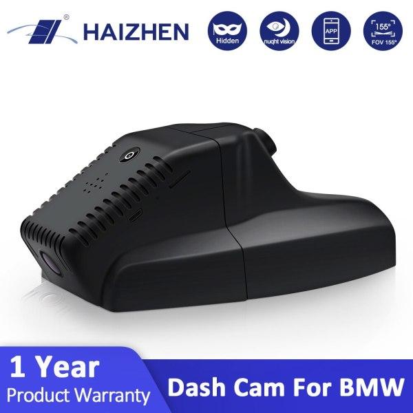 HAIZHEN Dash Cam FHD hidden car camera DVR car WiFi APP Control Night Vision Dashcam for BMW Dedicated Car driving recorder