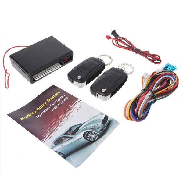 Universal Car Alarm Systems 12V Auto Remote Central Kit Door Lock