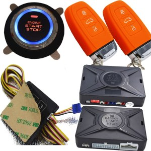 Cardot new remote engine start PKE car alarm system