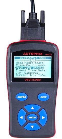 OBD automotive computer fault diagnosis instrument auto detector
