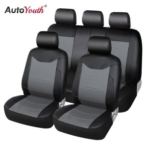 Full Set Auto Seat Covers with Organizer Storage Bags