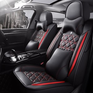 Leather Front & Rear Car Seat Cover for vw golf 4