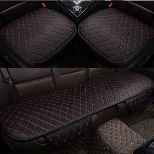 Car Seat Cover Protector Cushion Pad Mat PU Leather Auto Seat
