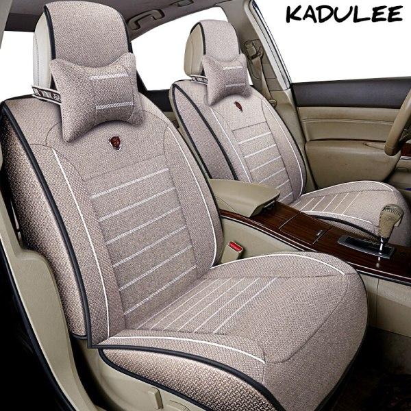 Flax car seat cover for renault logan duster fluence kadjar
