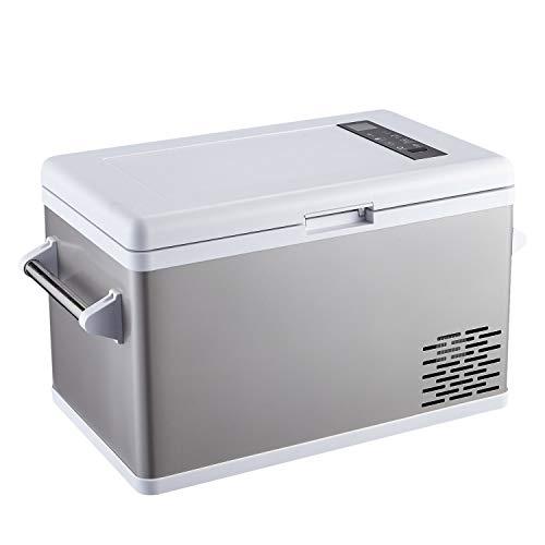 Ausranvik 37 Quart Portable Fridge Car Refrigerator