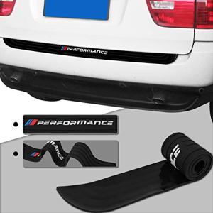 Meng Anna Durable Car Rear Bumper Protector Rubber Compatible