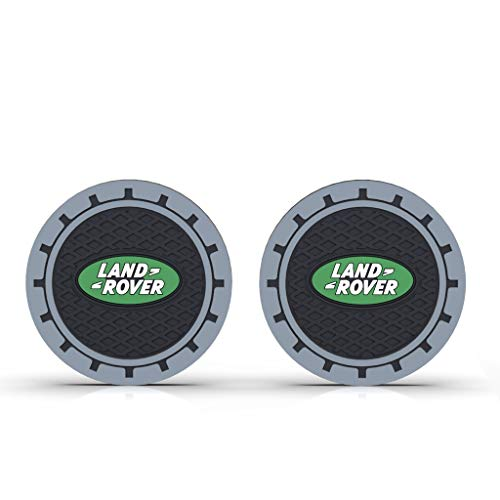 """YANS 2 Pack 2.75"""" Car Cup Holder Coasters for Car"""