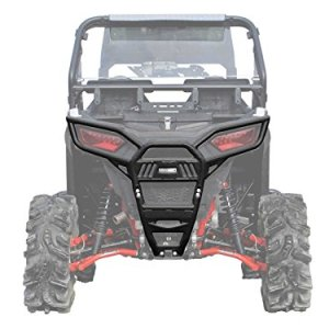 SuperATV Heavy Duty Rear Bumper for Polaris