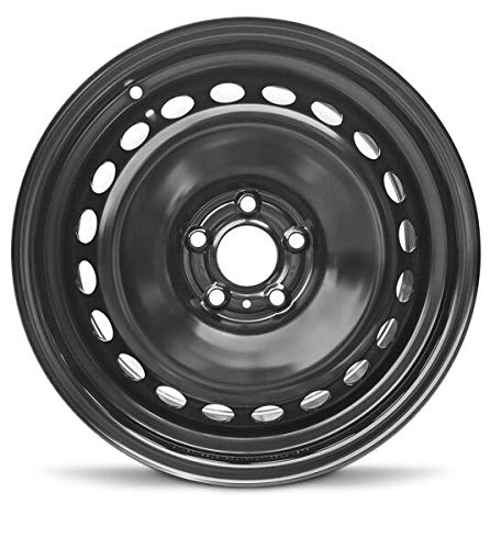 2008-2019 Nissan Rouge 17 Inch Lug Black Steel Rim