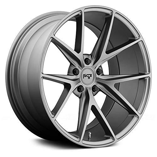 Niche M116 Misano 20x10 5x114.3 +40mm Anthracite Wheel Rim