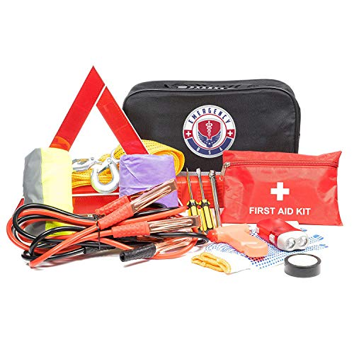 Roadside Assistance Emergency Car Kit - First Aid Kit