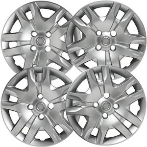 2010-2012 Nissan Sentra 16in Hub Caps Silver Rim Cover