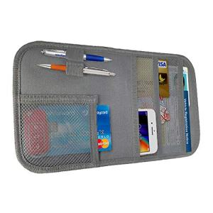 Sun Visor Pocket Organizer Insurance Document Holder