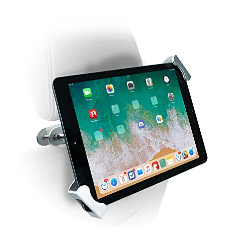 Anti-Theft Tablet Holder for Vehicles, Rotating Back Seat Mount for iPad 10.2-inch