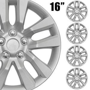 "BDK 4-Pack Premium 16"" Wheel Rim Cover Hubcaps"