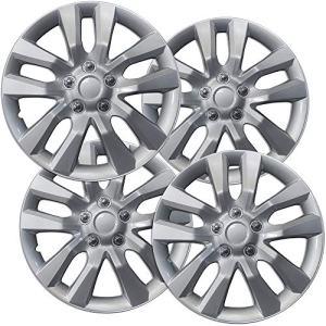 2013-2019 Nissan Altima 16in Hub Caps Silver Rim Cover