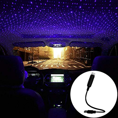 ORASK Car USB Atmosphere Ambient Star Projector
