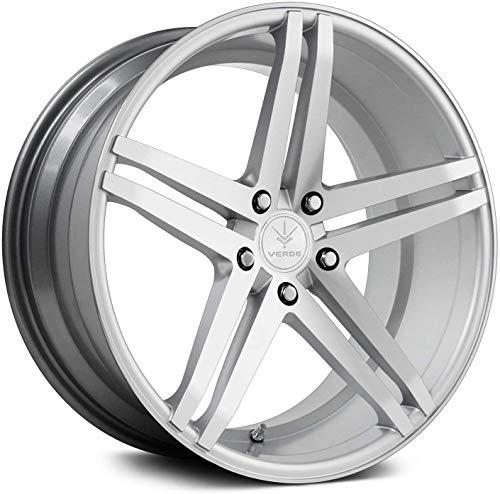 Verde Wheels Parallax Matte Silver/Machined Wheel