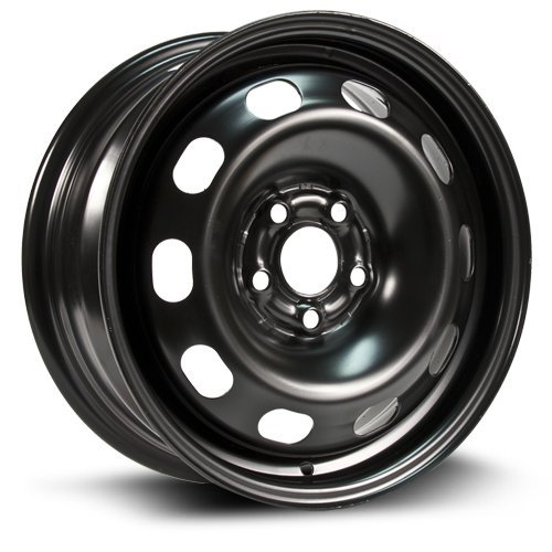 Aftermarket Wheel, 15X6, 5X100, 57.1, 38, black finish