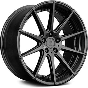 Verde Wheels Insignia Satin Black Wheel