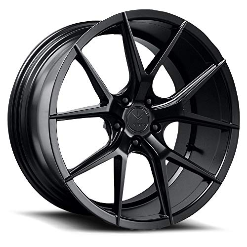 Verde Wheels Axis Satin Black Wheel with Painted