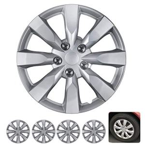 Wheel Covers Snap Clip-On Auto Tire Rim Replacement